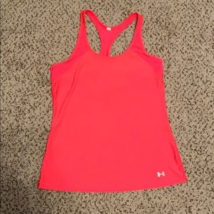 Pink Under Armour Workout Tank
